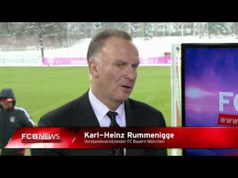 Nach dem CL-Spiel in London: Karl-Heinz Rummenigge bei den FCB News