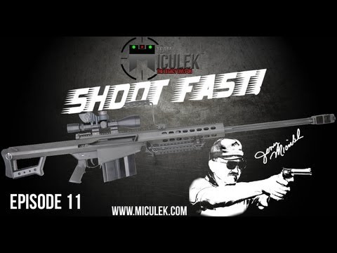 Barrett M107 .50 cal Sniper full review. shooting. ammo testing. and explosives with Jerry Miculek