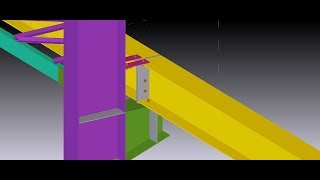 Bài 7.Thực hành dựng Model tekla với Đồ án thép ĐHXD- Phần 2- Vẽ liên cốt cột-vai cột-dầm cầu trục.
