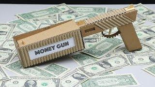 Build a Money Gun from Cardboard