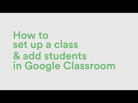 Setting Up Google Classroom