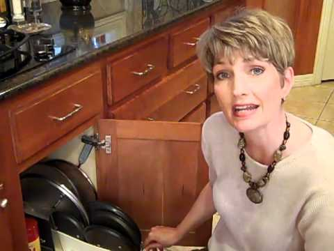 Organizing Pots Amp Pans Clutter Video Tip Youtube