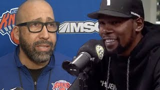 New York Knicks RESPOND To Kevin Durant's SHADY Comments About The Team!