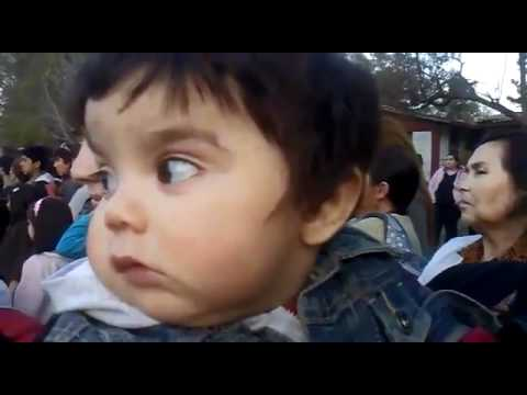 OMG Cute Baby Scared by how much he Loves his Country -  [Baby Scared Of Mom Blowing Nose]