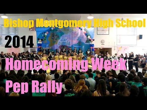 "Bishop Montgomery High School Homecoming Pep Rally 2014: ""Gospel"""