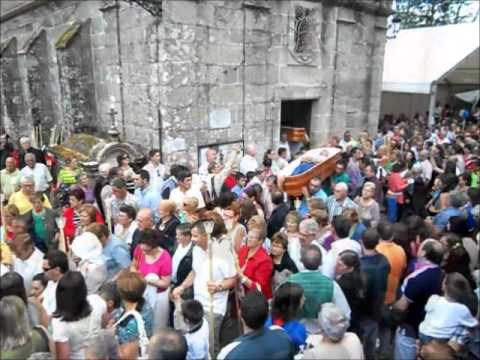 Santa Marta de Ribarteme Procesión ataúdes As Neves