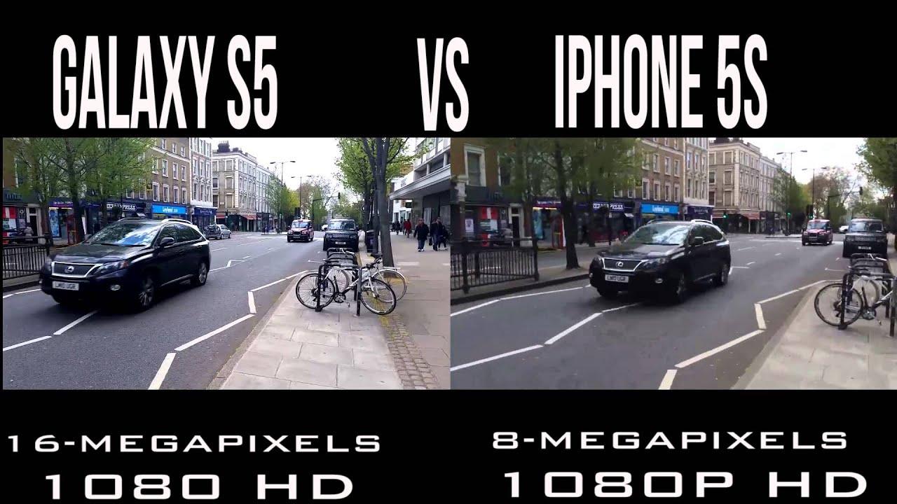 Camera Iphone 5s vs Galaxy s5 Samsung Galaxy s5 vs Iphone 5s