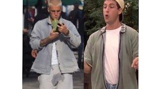 "Justin Bieber EXPLAINS His Hilarious ""Pee Pants"" Stain"
