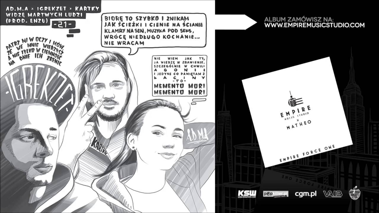 21. Ad.M.a x Igrekzet x Kartky - Widzę martwych ludzi (prod. Enzu) [Empire Music Studio]