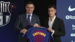 Tin Thể Thao 24h Hôm Nay (7h10 - 9/1): Coutinho Chính Thức Ký Hợp Đồng Với Barcelona