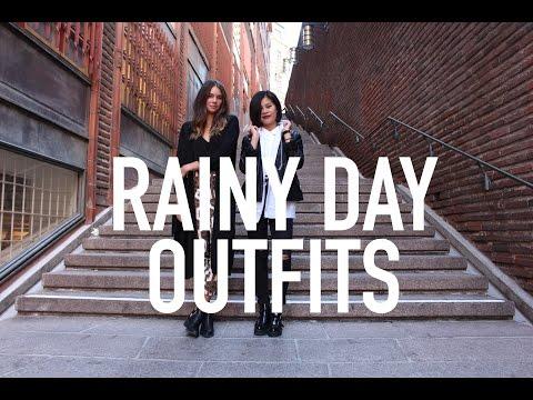 Rainy Day Outfits - YouTube
