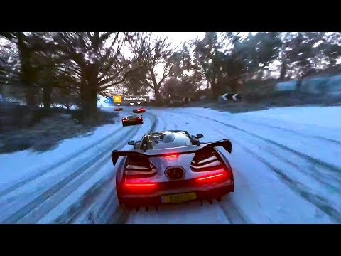FORZA HORIZON 4 Gameplay Demo (E3 2018)