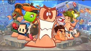 ALTA TRAICION ENTRE YOUTUBERS - Worms W.M.D. Gameplay HD Español | ZellenDust