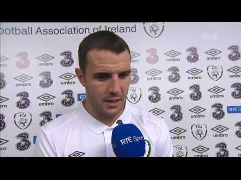 Republic of Ireland v Netherlands - Post Match Interview - John O'Shea (27/5/16)