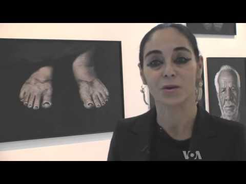 Iranian-Born Artist Explores Cost Of Egypt's Revolution