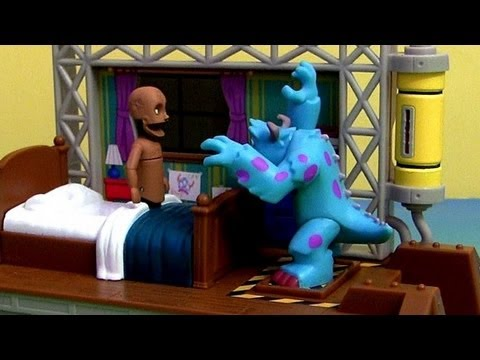 Scare Simulator Playset Monsters University Disney Pixar Monsters Inc. Epic review Disneycollector
