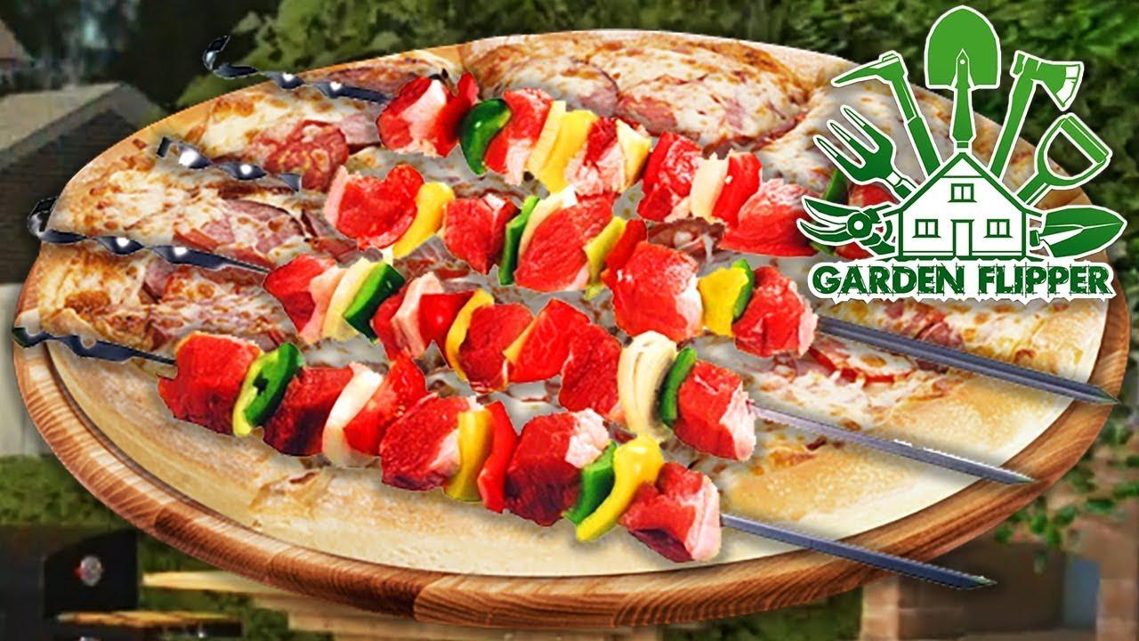 ШАШЛЫЧКИ И ПИЦЦА ► Garden Flipper #9