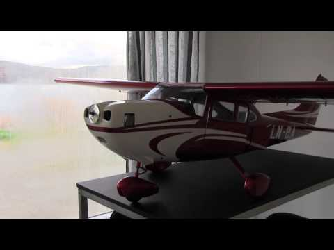 TMMY Composite 1/5 Scale Cessna 182 - Updates about the build