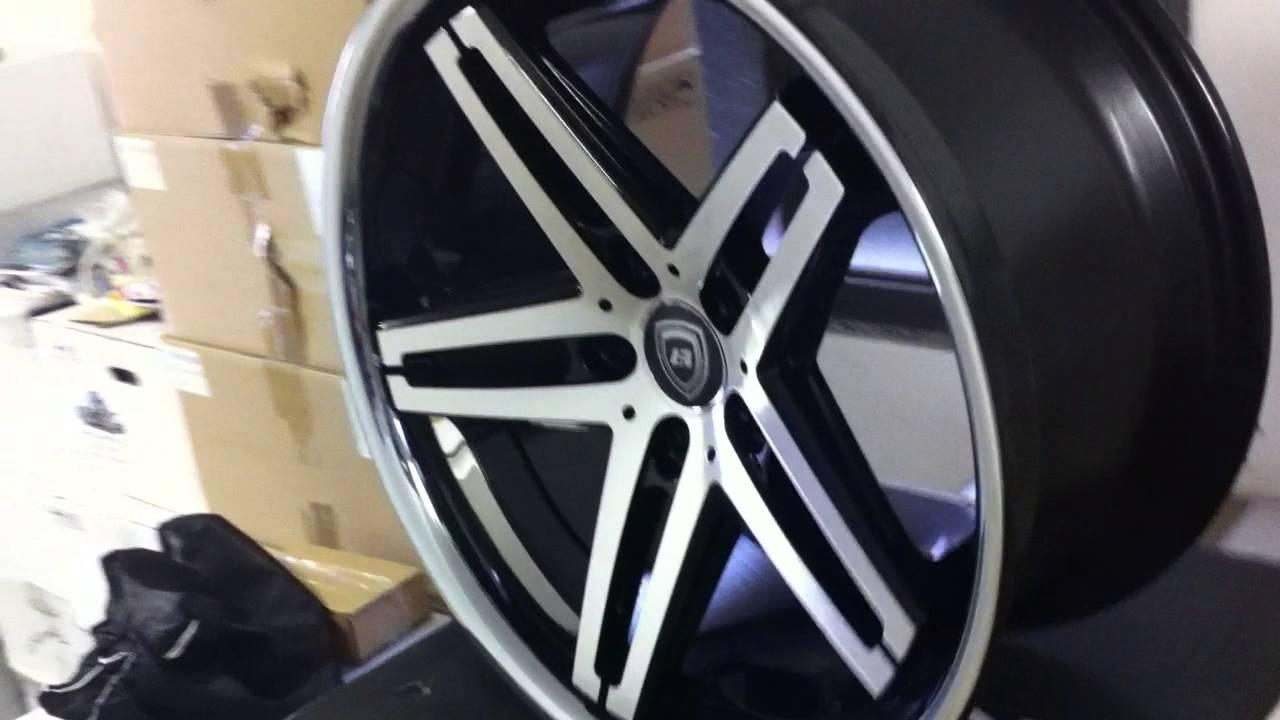 Lexani R 5 Black Machined By Wheels World Youtube