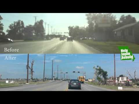 Before & After Joplin Tornado