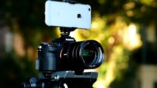 iPhone 6s vs Sony A7Rii 4k video comparison test
