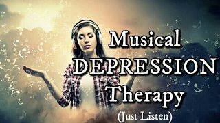 DEPRESSION TREATMENT Meditation Music to INCREASE SEROTONIN & Relieve Symptoms of Major Depression