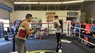 Boxing Champion Leo Santa Cruz