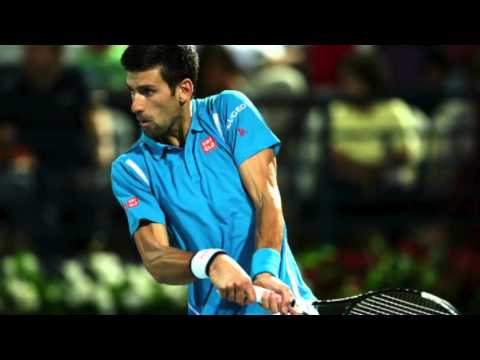 Novak Djokovic on his win over Tommy Robredo and the absence of Roger Federer from Dubai