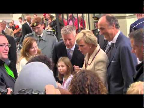 Belgium's Princess Astrid at National Day 2011
