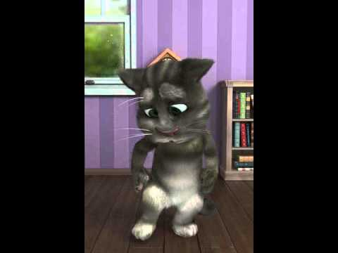 Talking Tom making dirty noises