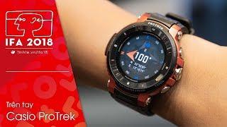 #IFA18: Trên tay đồng hồ Casio ProTrek: G-Shock chạy Android Wear?