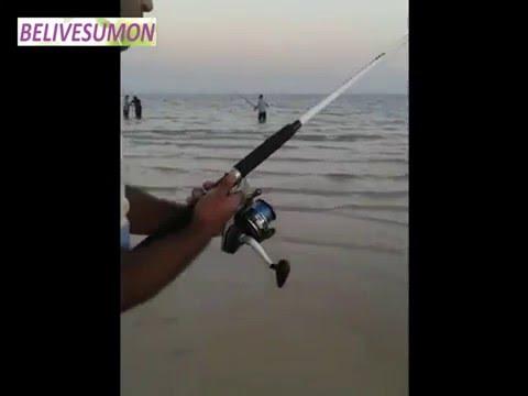 fishing spots golden beach sealine qatar