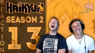 SOS Bros React - Haikyuu Season 2 Episode 13 - 39cm Difference? No Problem!!