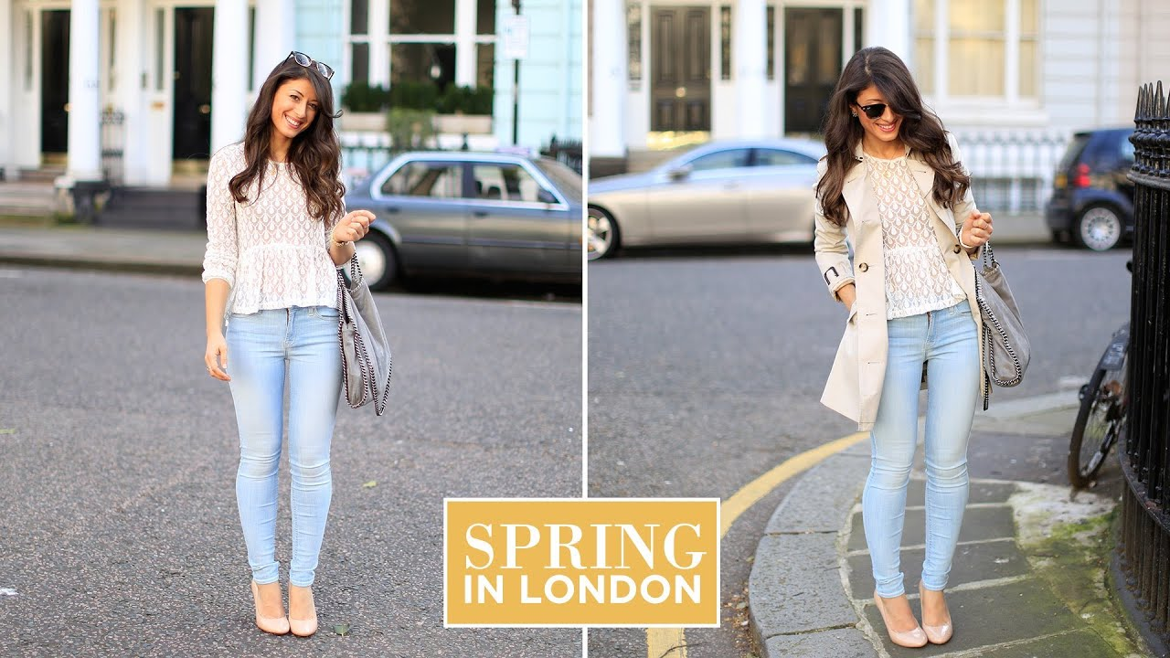 Spring In London Outfit Of The Day Youtube