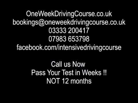Intensive Driving Courses Birmingham | Driving Lessons Birmingham