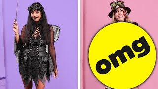 Best Friends Pick Each Other's Halloween Costumes • Nina and Chloe