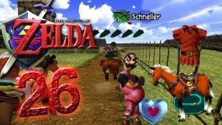 Let's Play The Legend of Zelda Ocarina of Time Part 26: Wettkampf um Epona