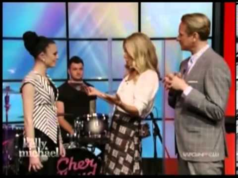 Cher Lloyd Live On 'Kelly and Michael' 19th April 2013