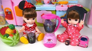 Baby Doll Fruit Juice Strawberry Pineapple Blueberry Kitchen Play Cooking Time Toy Soda