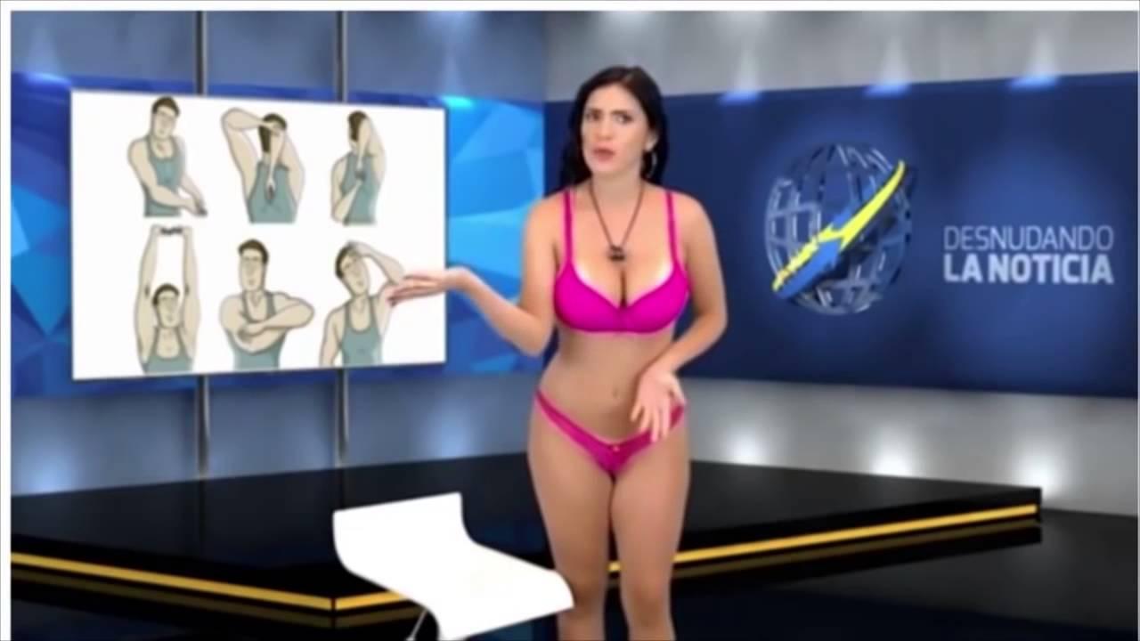 Видео голая российская телеведущая