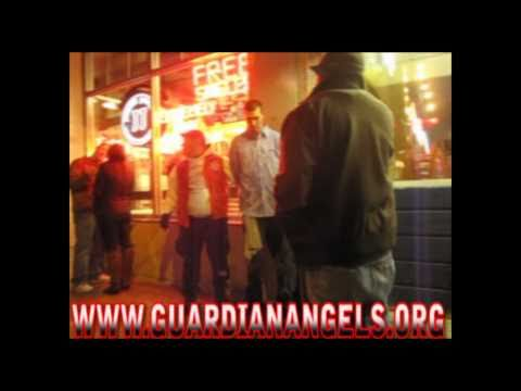 GUARDIAN ANGELS ARREST MAN IN MADISON WISCONSIN FOR FIGHTING IN THE STREET 1/30/11