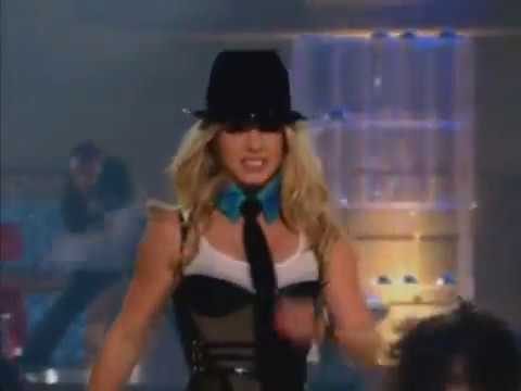 Britney Spears   Me Against The Music Live video