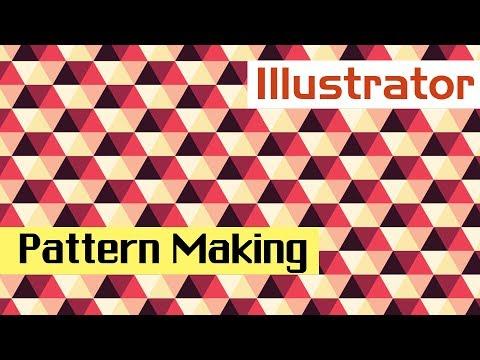 Adobe Illustrator CC   How to Pattern making Illustrator CC 2017 CS 6 Tutorial