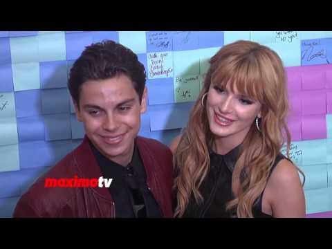 Jake T  Austin and Bella  Jake T Austin And Bella Thorne Kissing