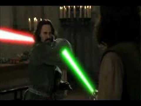 Princess Bride Lightsaber Battle