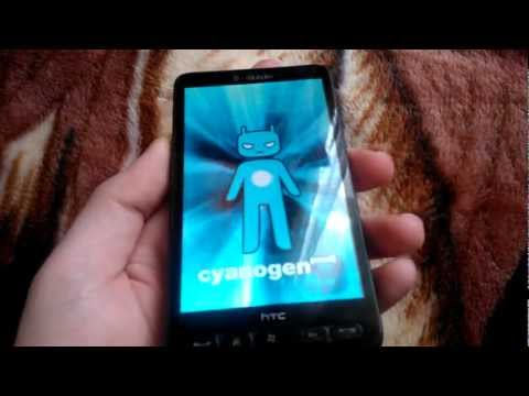 HTC HD2 Dual Boot Windows Phone 7.8 and Android 4.0.4 Ice Cream Sandwich