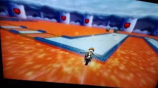 mkwii bowser castle 3 no stop ultra shortcut fail very high jump