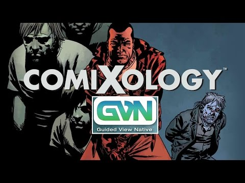 Comixology & AWESOME Guided Viewing! MUST TRY! Online Comic Source