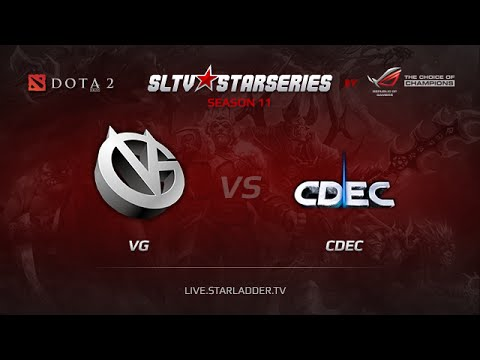 VG vs CDEC, SLTV China Playoffs, LB Finals, Game 1