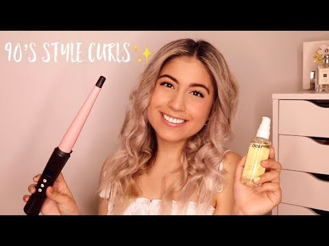 How to: 90's style curls!